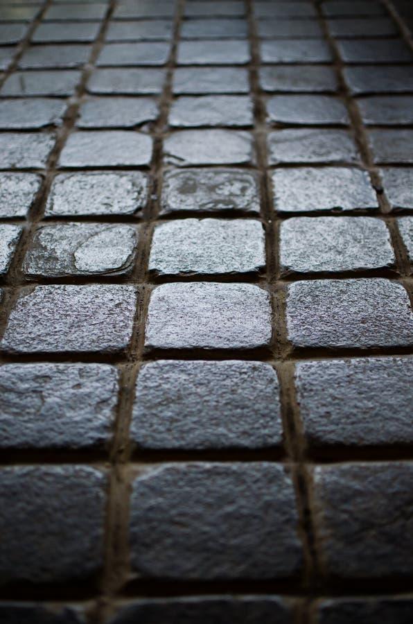 Fond des tuiles faites de blocs carrés photos stock
