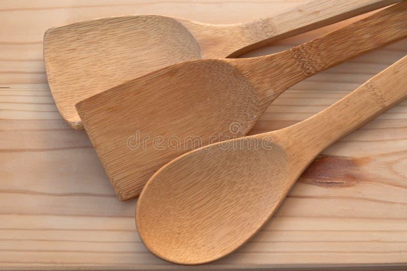Fond des ustensiles de cuisine Accessoires nécessaires dans la cuisine photo libre de droits
