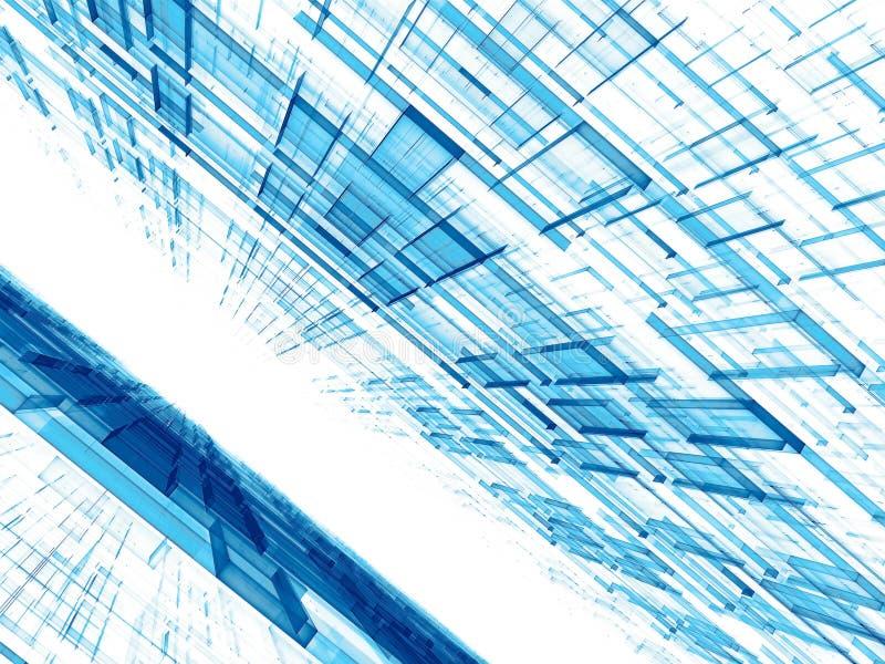 Fond diagonal abstrait de technologie - a digitalement produit d'im image stock