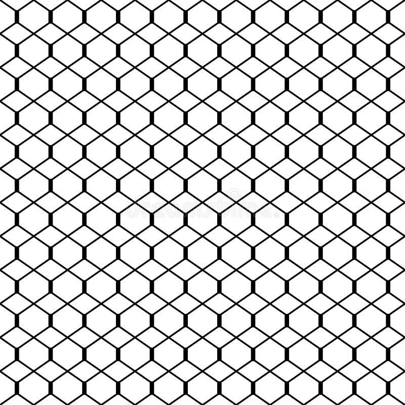 Fond discordant sans couture géométrique, illustration de vecteur illustration libre de droits
