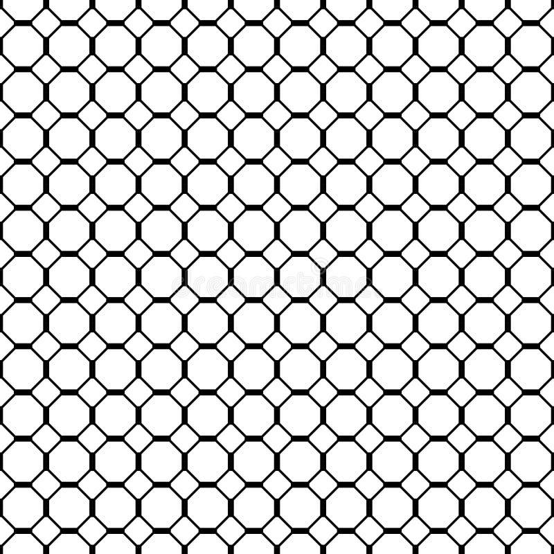 Fond discordant sans couture géométrique, illustration de vecteur illustration de vecteur