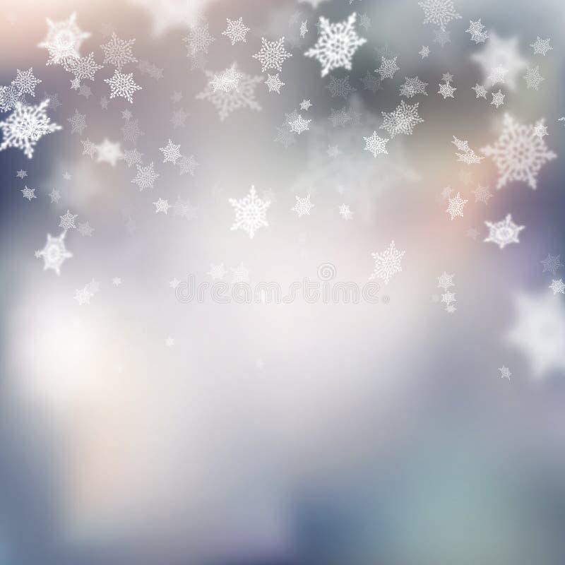 Fond doux coloré de Noël Vecteur d'ENV 10 illustration libre de droits