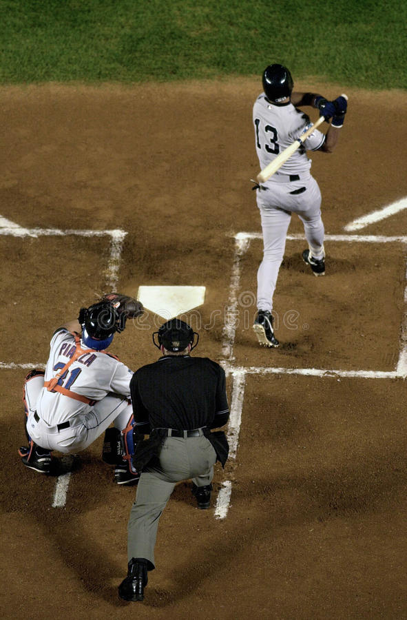 Fond du base-ball batter photographie stock