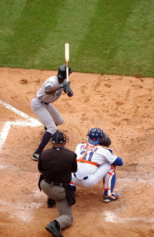 Fond du base-ball batter photos libres de droits