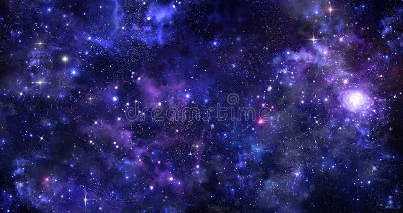 Fond du ciel nocturne photo libre de droits