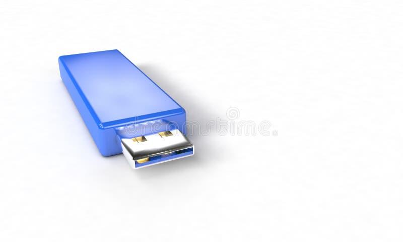 Fond du disque dur à mémoire flash, 3d illustration stock