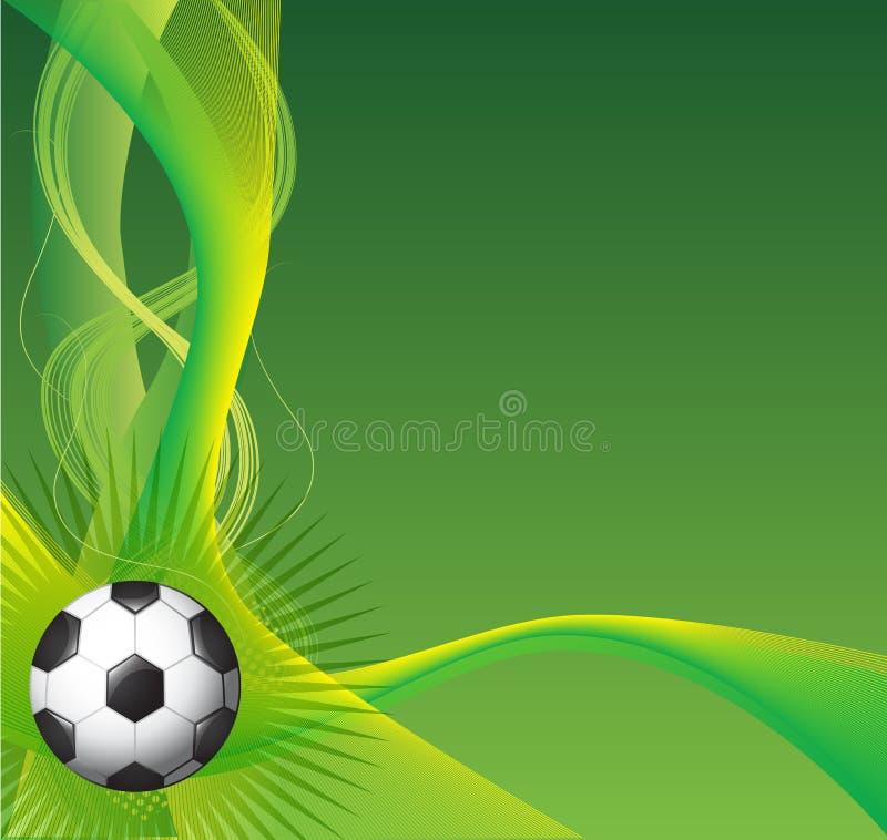 Fond du football illustration stock
