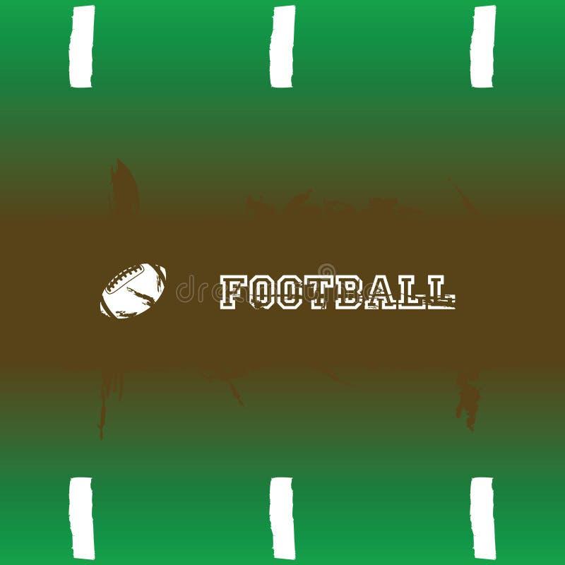 Fond du football illustration libre de droits