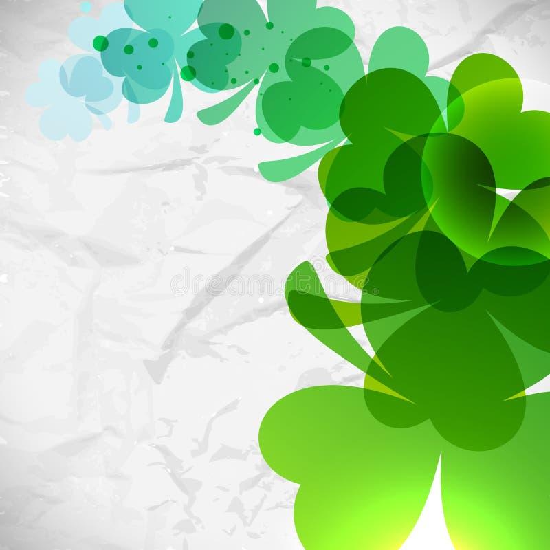Fond du jour de St Patrick illustration stock