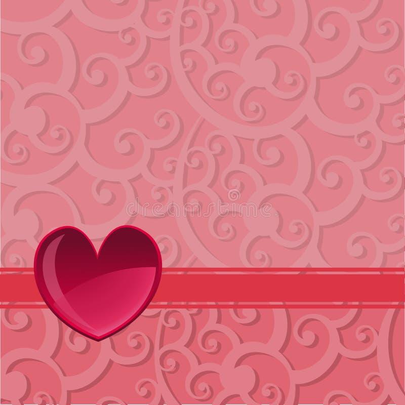 Fond du jour de Valentine illustration libre de droits