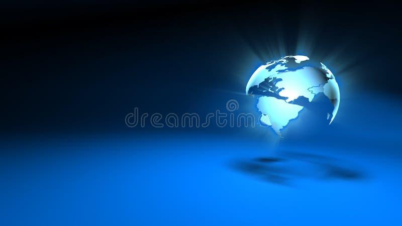 Fond du monde illustration libre de droits
