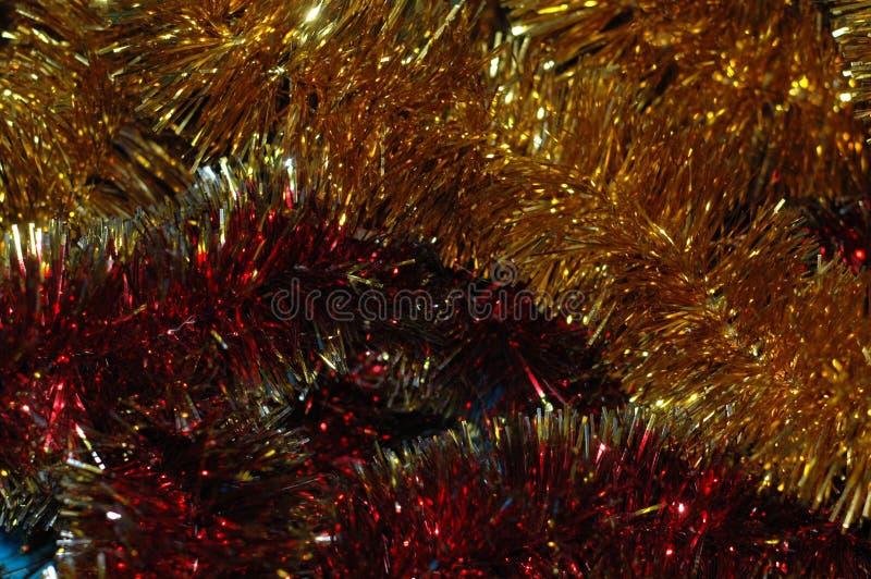Fond du ` s de Noël ou de nouvelle année Une tresse multicolore photo libre de droits