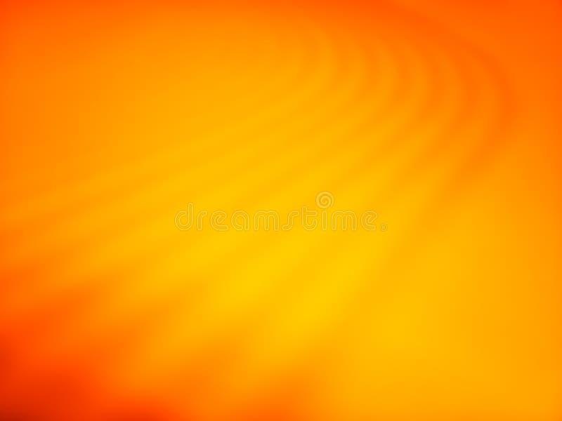 Fond dunaire de bokeh de désert orange diagonal illustration stock