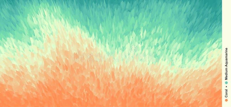 Fond dynamique abstrait Dirigez l'illustration utilisée pour l'affiche, bannière, insecte et plus illustration libre de droits