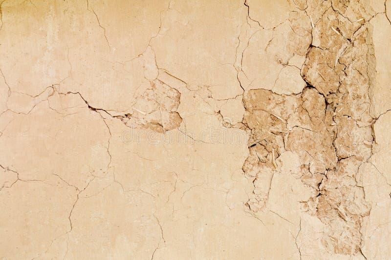 Fond eathern d'abrégé sur texture de mur d'argile image stock