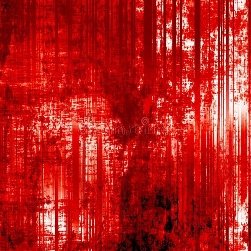 Fond effrayant de sang illustration libre de droits