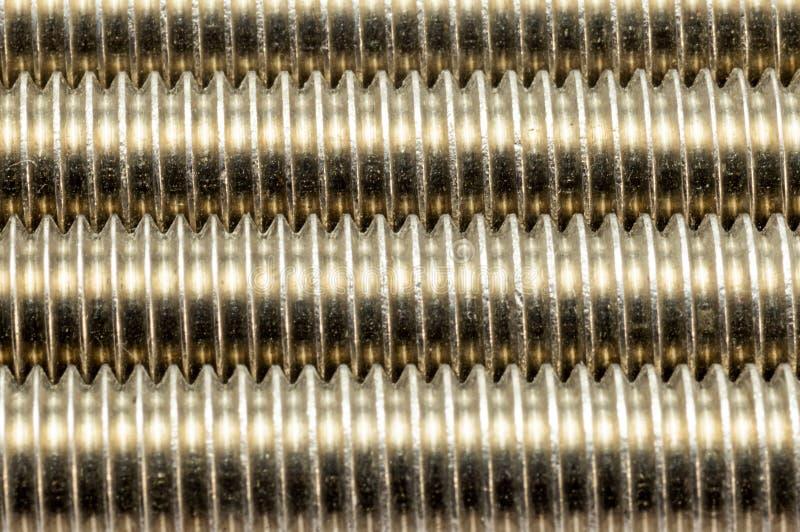 Fond en acier industriel de fil photos libres de droits