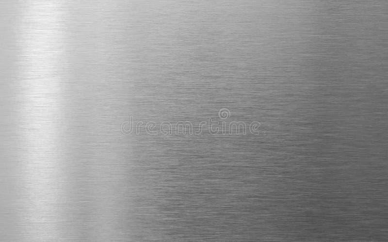 Fond en acier parfait de texture en métal photo stock
