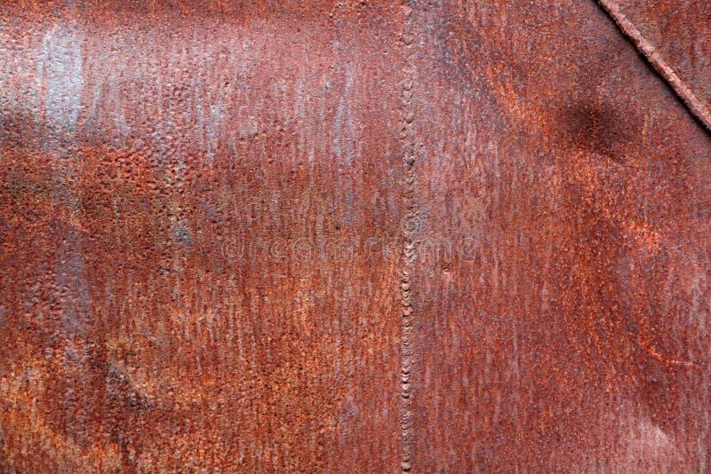 Fond en acier rouillé photo libre de droits