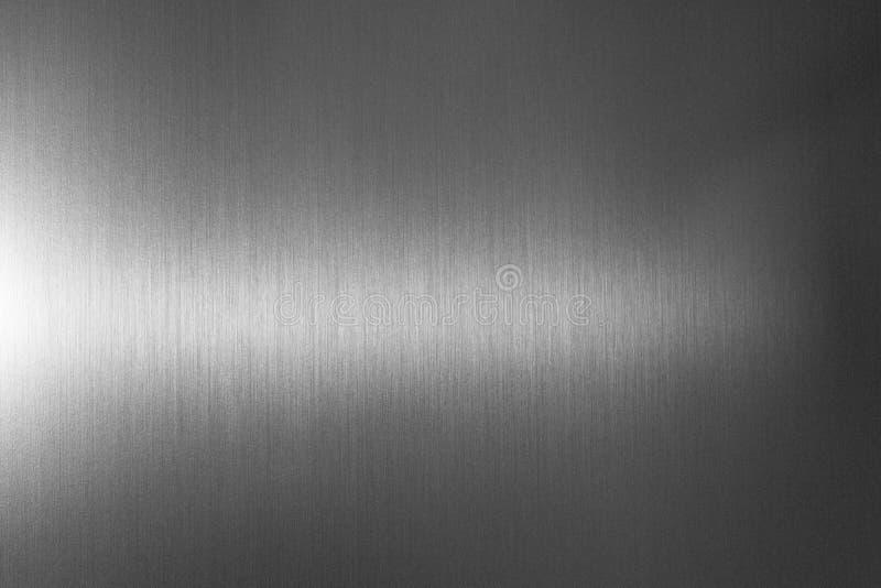 Fond en aluminium de textures en métal d'acier inoxydable photographie stock