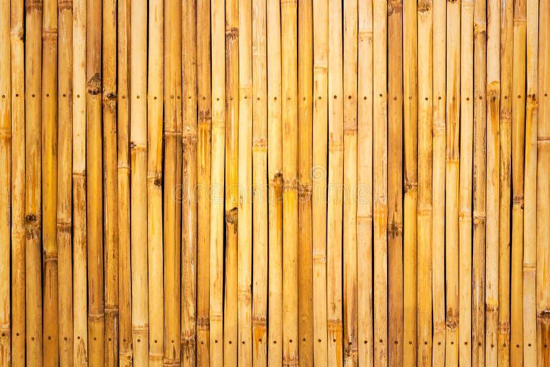 Fond en bambou de barrière photo libre de droits