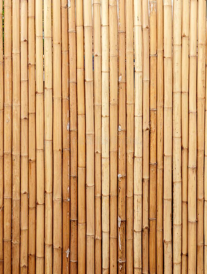 Fond en bambou de Brown, couleur naturelle photographie stock