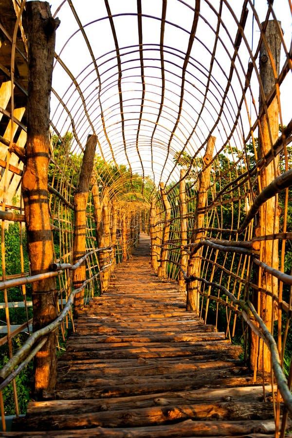 fond en bambou de texture de barrière ou de mur pour l'intérieur ou l'extérieur photo libre de droits