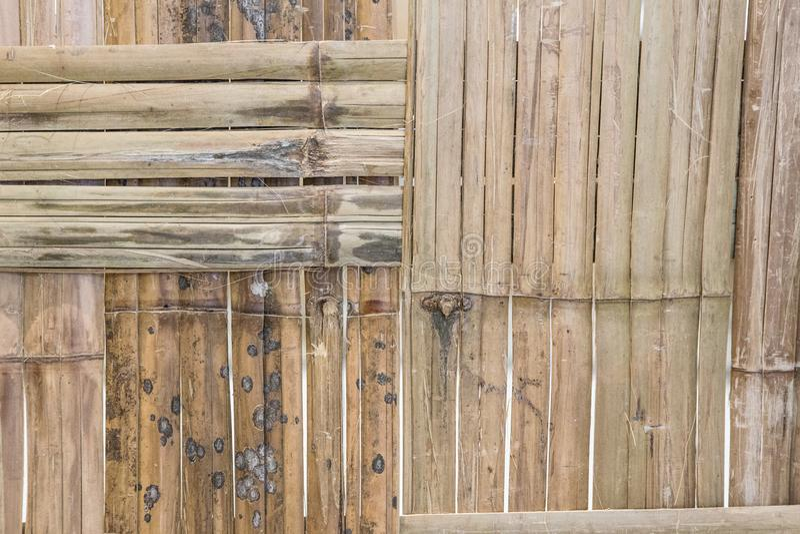 Fond en bambou de texture d'ordures images stock