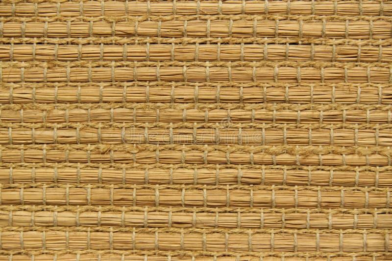 Fond en bambou tissé images libres de droits