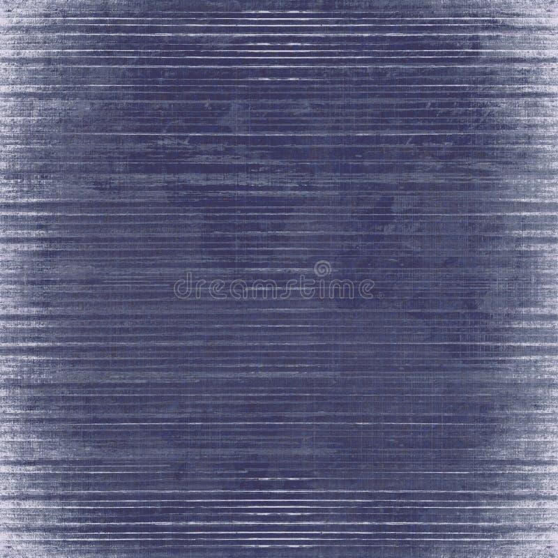 Fond en bois à lamelles bleu d'isolement illustration libre de droits