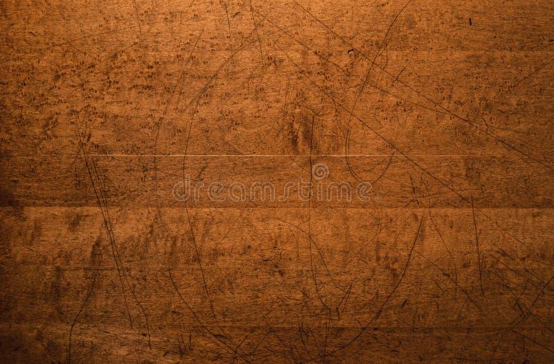 Fond en bois affligé de dessus de Tableau photo libre de droits
