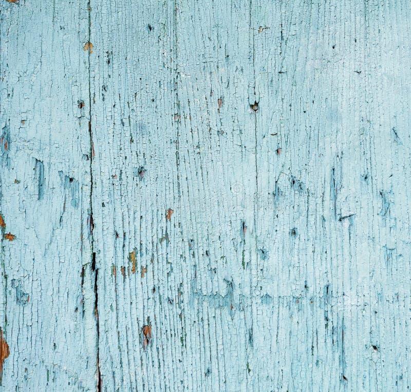 Fond en bois avec la peinture sèche d'épluchage images libres de droits