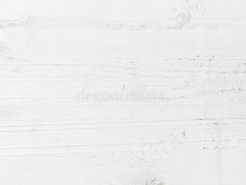 Fond en bois blanc photographie stock