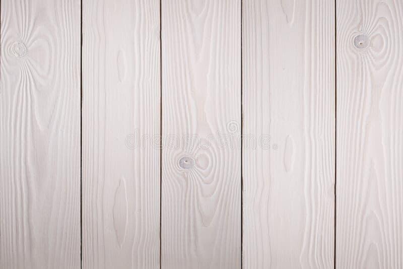 Fond en bois blanc photographie stock libre de droits