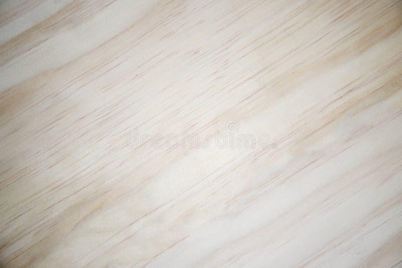 Fond en bois blanc avec la vignette Plan rapproché en bois naturel jaune photo stock
