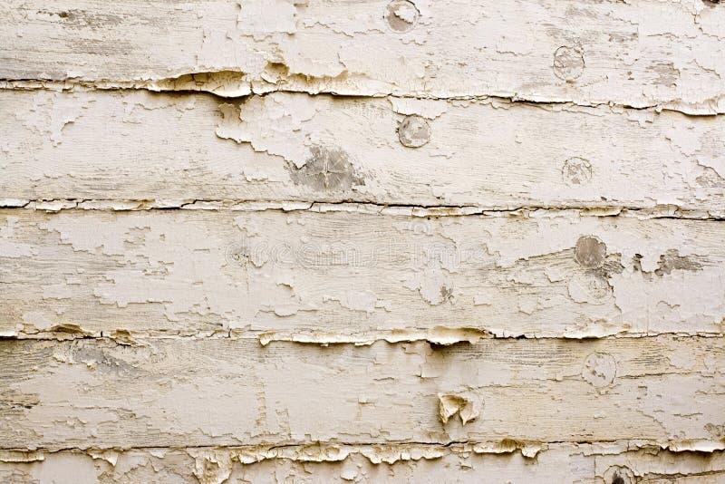Fond en bois blanc de cru. photo libre de droits