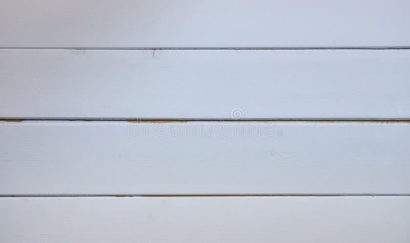Fond en bois blanc de texture des planches le fond d'un mur en bois L'espace pour le texte photo libre de droits