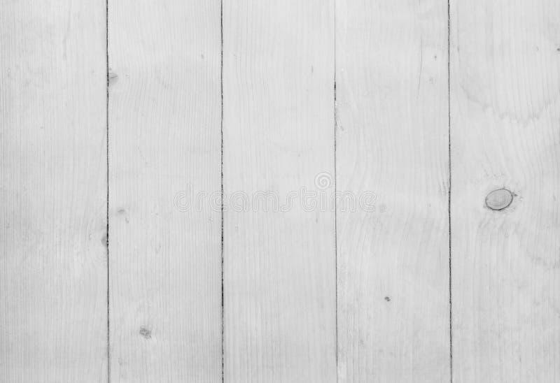 Fond en bois blanc de texture, lumière en bois de cru de planche de table images libres de droits