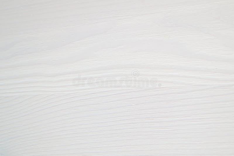 Fond en bois blanc de texture - mur ou plancher en bois de table de bureau images stock