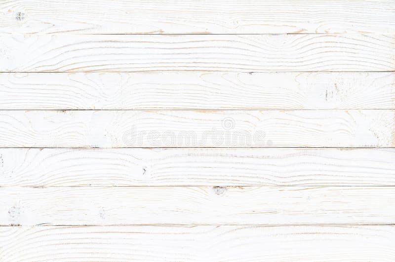 Fond en bois blanc de texture illustration de vecteur