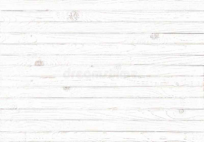Fond en bois blanc de texture illustration libre de droits