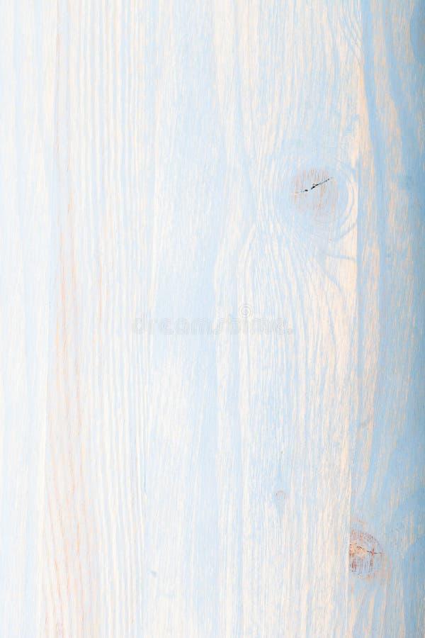Fond en bois bleu clair avec la texture évidente photographie stock libre de droits