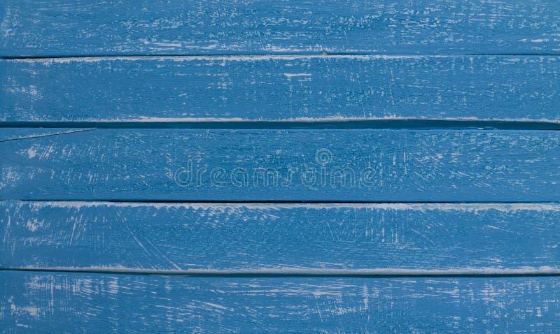 Fond en bois bleu de contexte images libres de droits