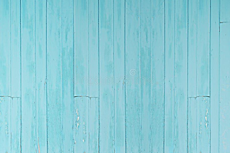 Fond en bois bleu de texture photographie stock