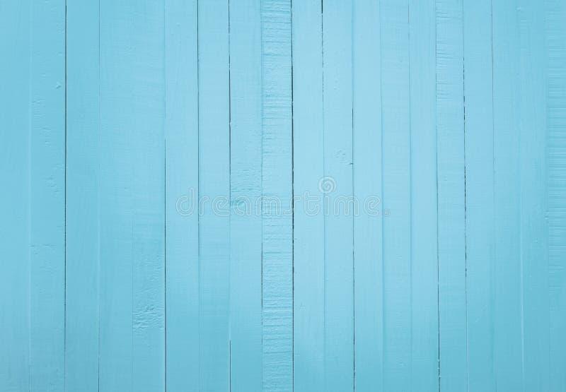 Fond en bois bleu de texture Contexte en bois Fond bleu de couleur en pastel Fond abstrait en bois unique Papier peint en bois image libre de droits