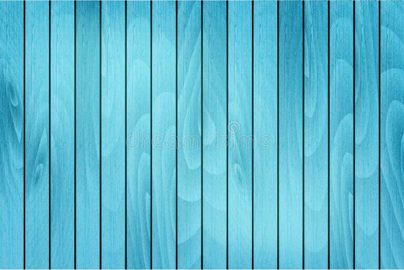 Fond en bois bleu Vecteur illustration de vecteur