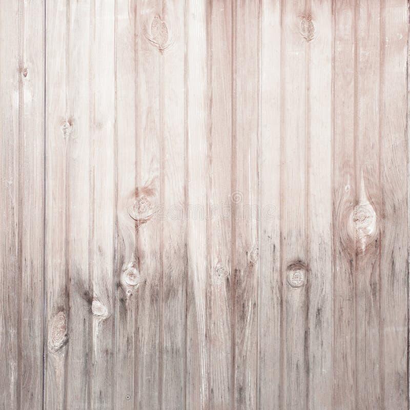 Fond en bois brun clair de vintage images libres de droits