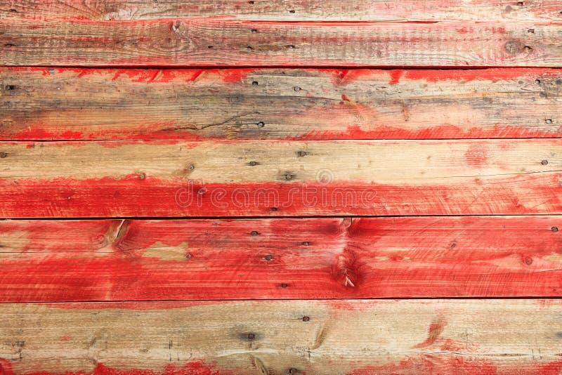 Fond en bois brun clair et rouge de texture photos stock