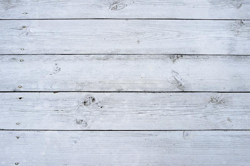 Fond en bois clair de texture, vue supérieure en bois de table images stock