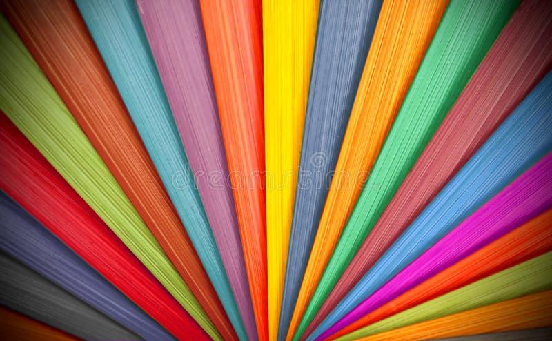 Fond en bois coloré photographie stock